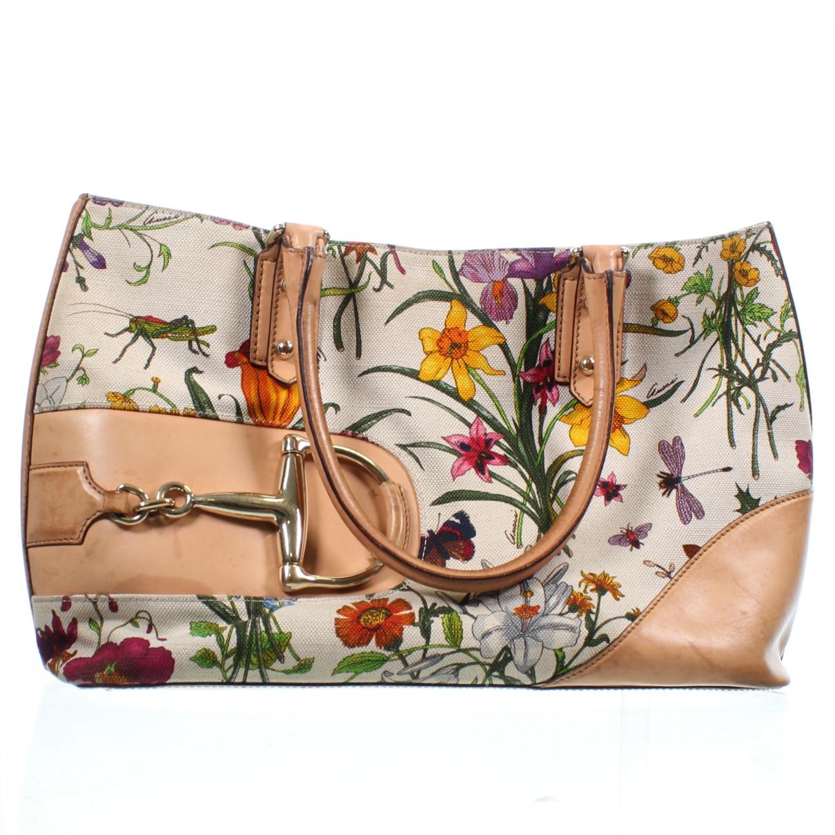 Gucci - Sac a main   pour femme en cuir - multicolore