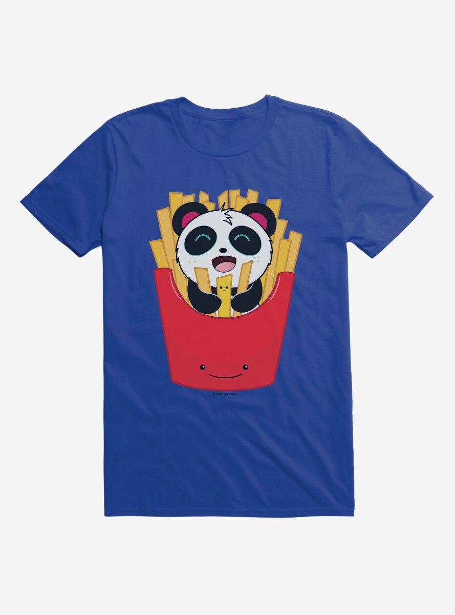 BL Creators: Hungry Rabbit Studio Pandi The Panda French Fries T-Shirt
