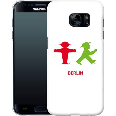Samsung Galaxy S7 Smartphone Huelle - Green and Red von AMPELMANN