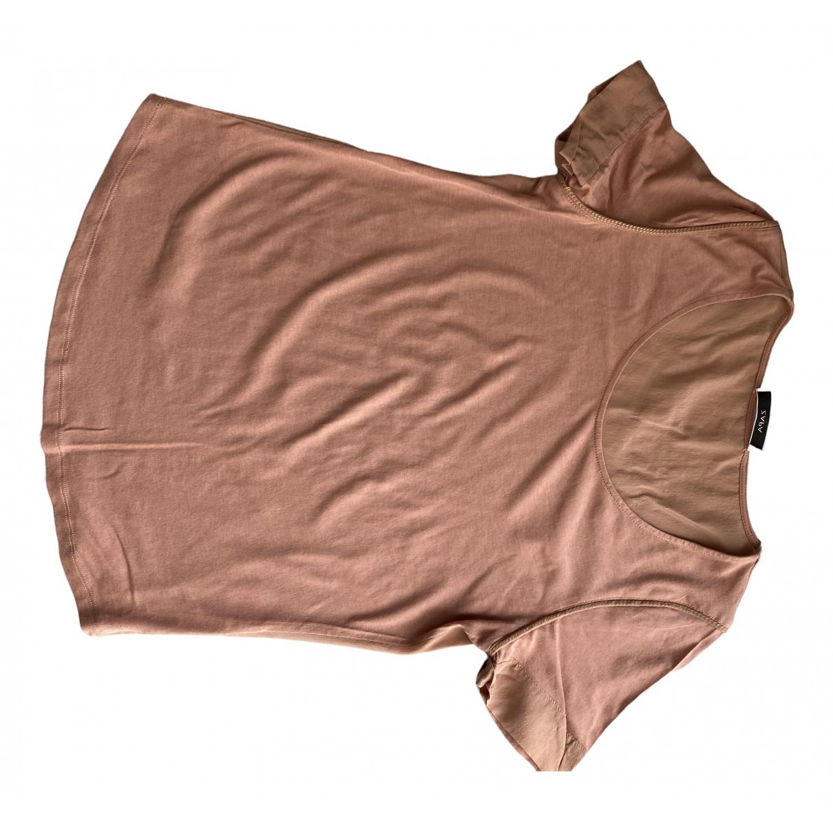 Zapa - Top   pour femme en coton - rose