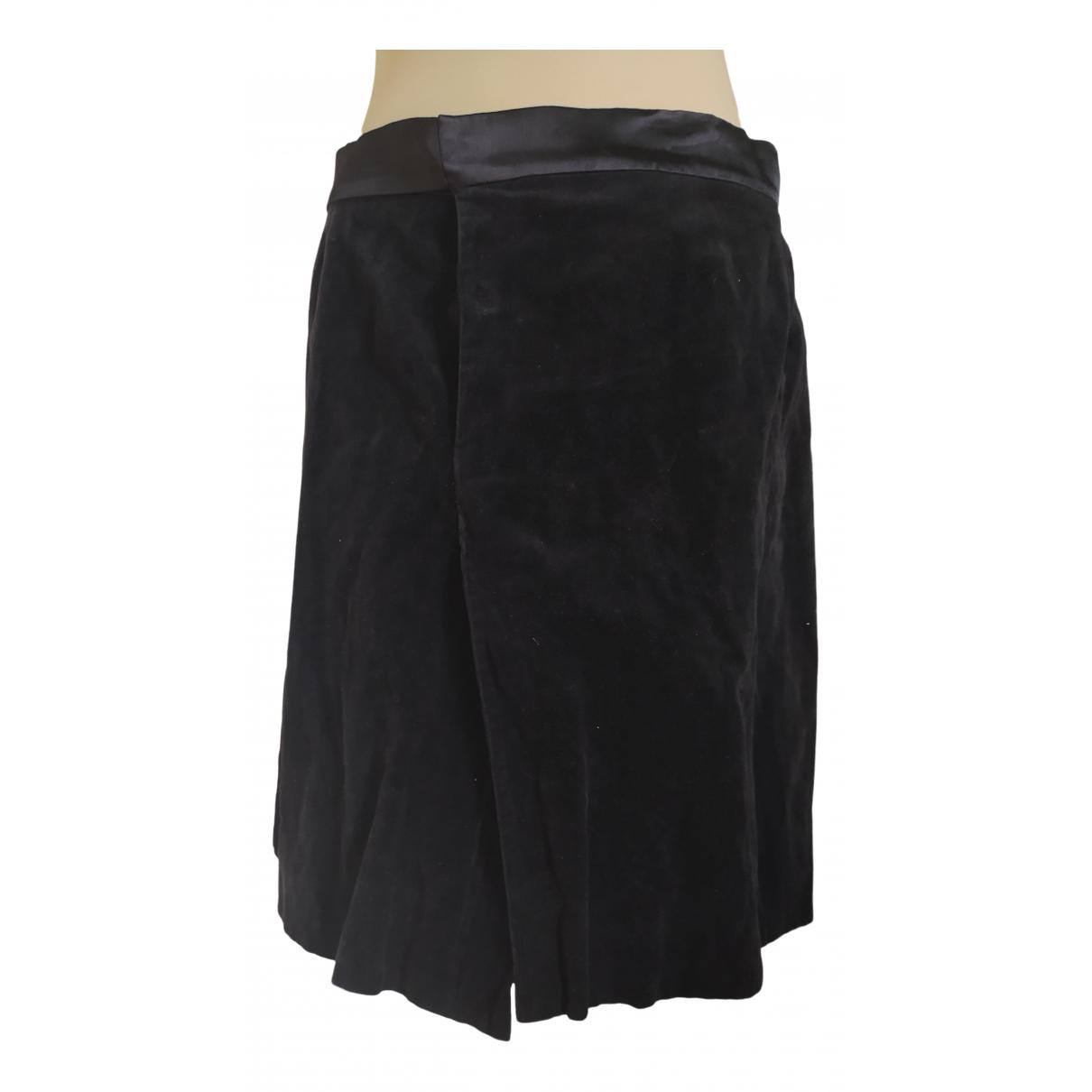 Angel Schlesser - Jupe   pour femme en coton - noir