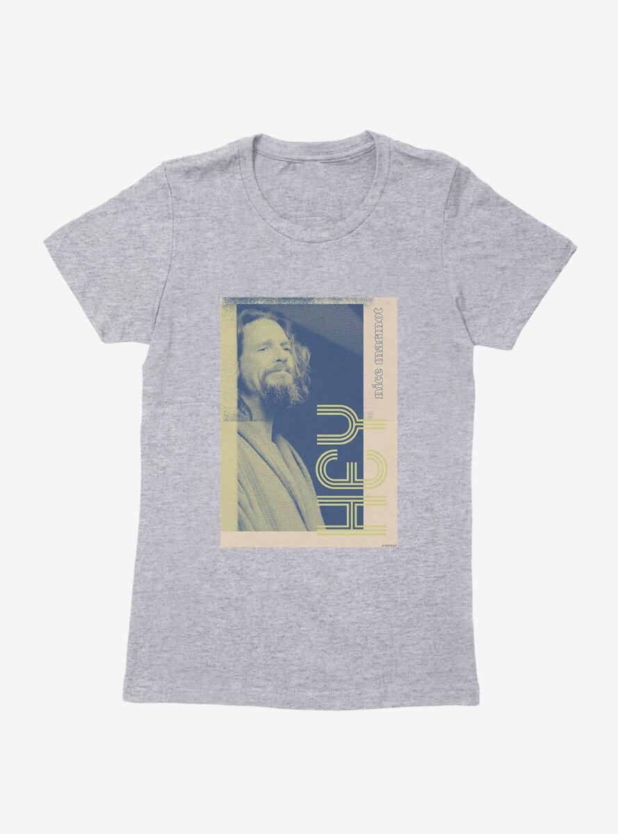 Big Lebowski Hey Portrait Womens T-Shirt