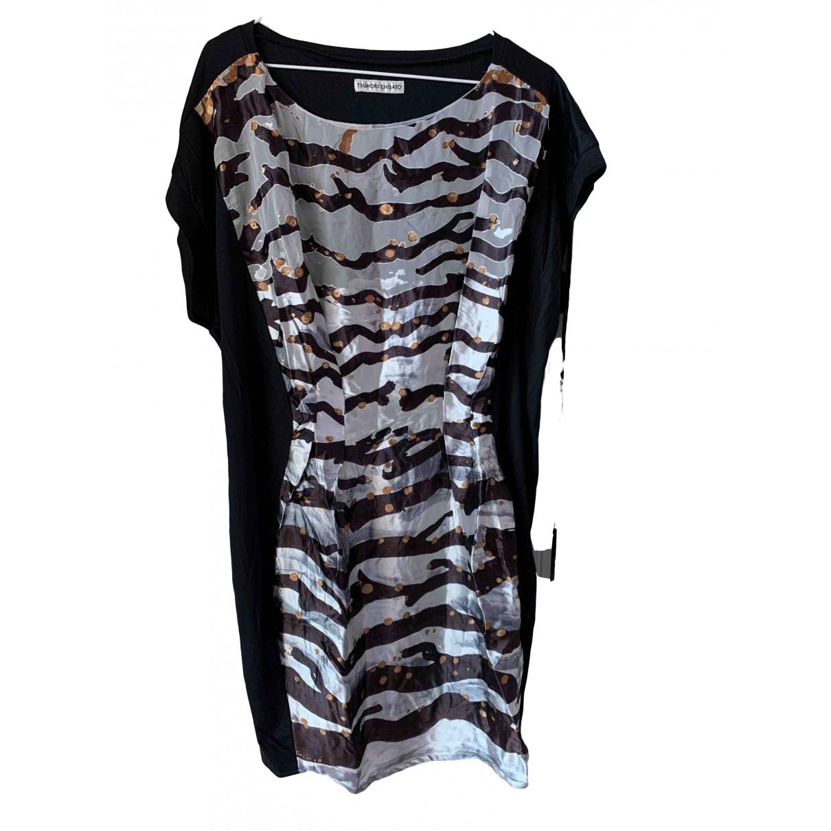 Tsumori Chisato \N Black Silk dress for Women 42 FR