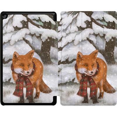 Amazon Fire HD 8 (2018) Tablet Smart Case - Winter Fox von Terry Fan