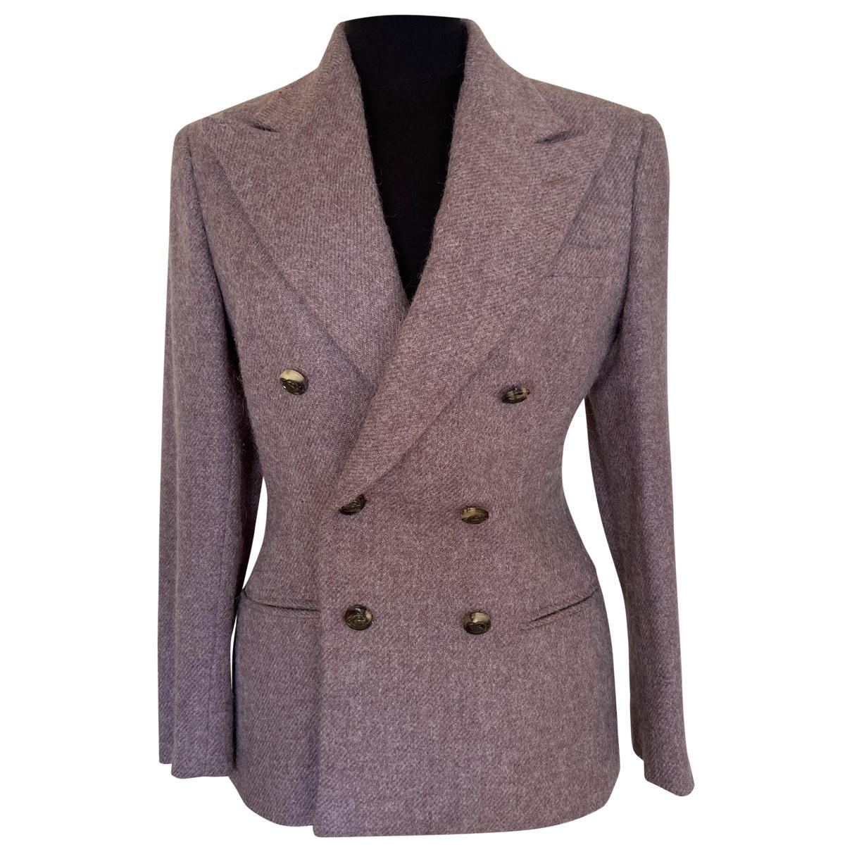 Ralph Lauren - Veste   pour femme en laine - violet