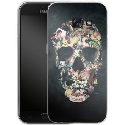 Samsung Galaxy A3 (2017) Silikon Handyhuelle - Vintage Skull von Ali Gulec