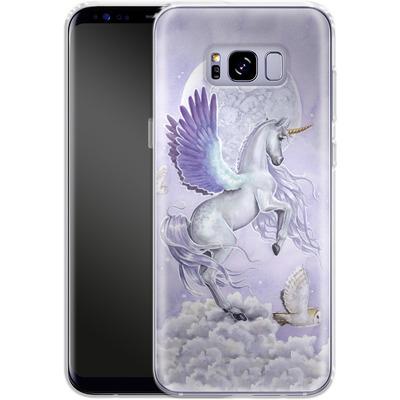 Samsung Galaxy S8 Plus Silikon Handyhuelle - Moonshine von Selina Fenech