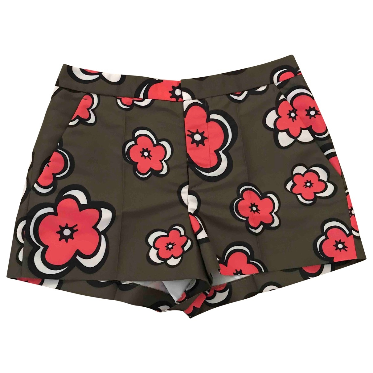 Red Valentino Garavani \N Multicolour Shorts for Women 42 IT