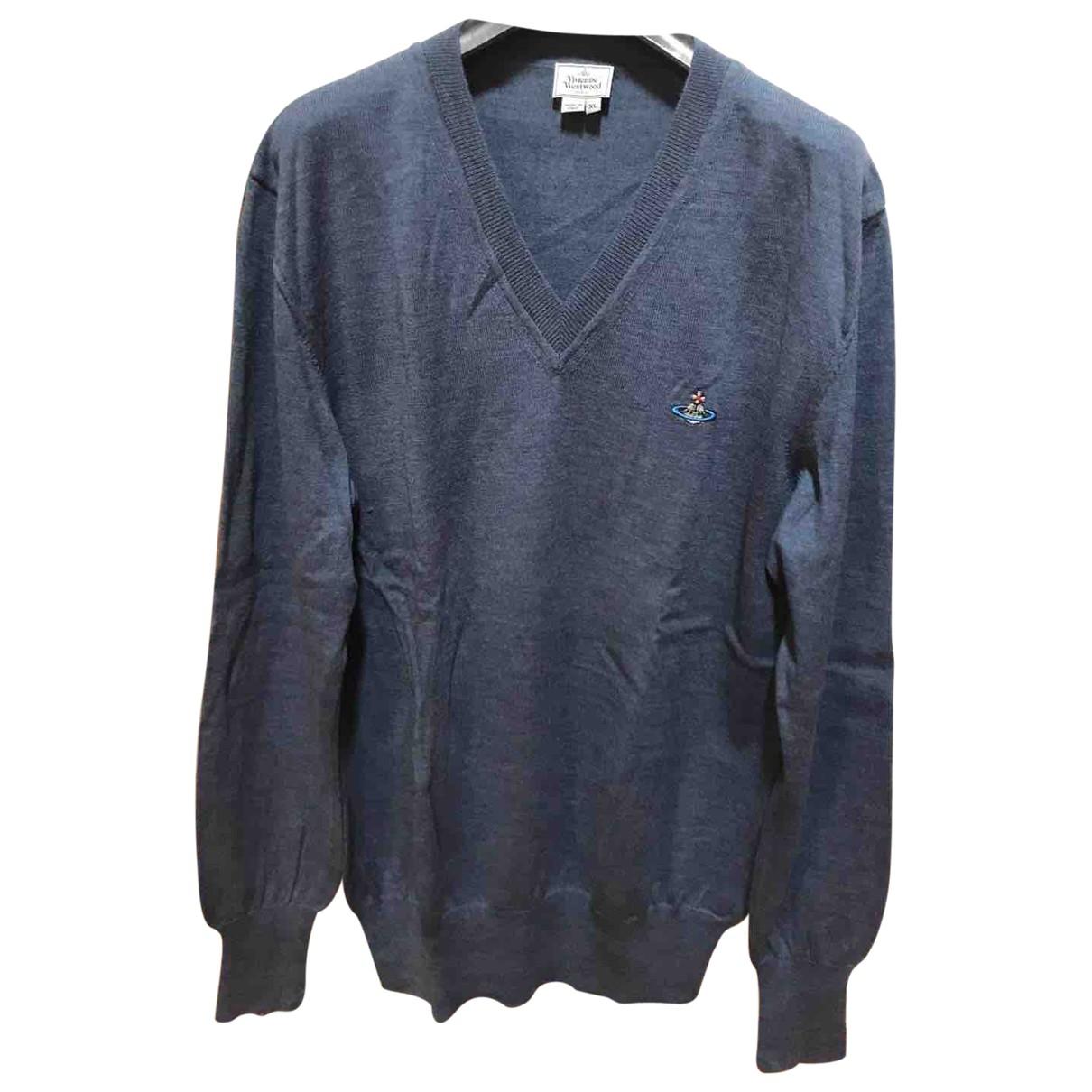 Vivienne Westwood \N Grey Wool Knitwear & Sweatshirts for Men XL International