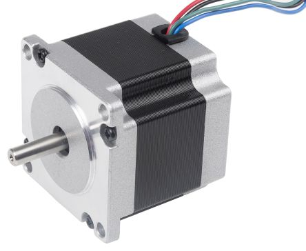 RS PRO Hybrid, Permanent Magnet Stepper Motor 1.8°, 1.0Nm, 2.3 V, 2.8 A, 4 Wires