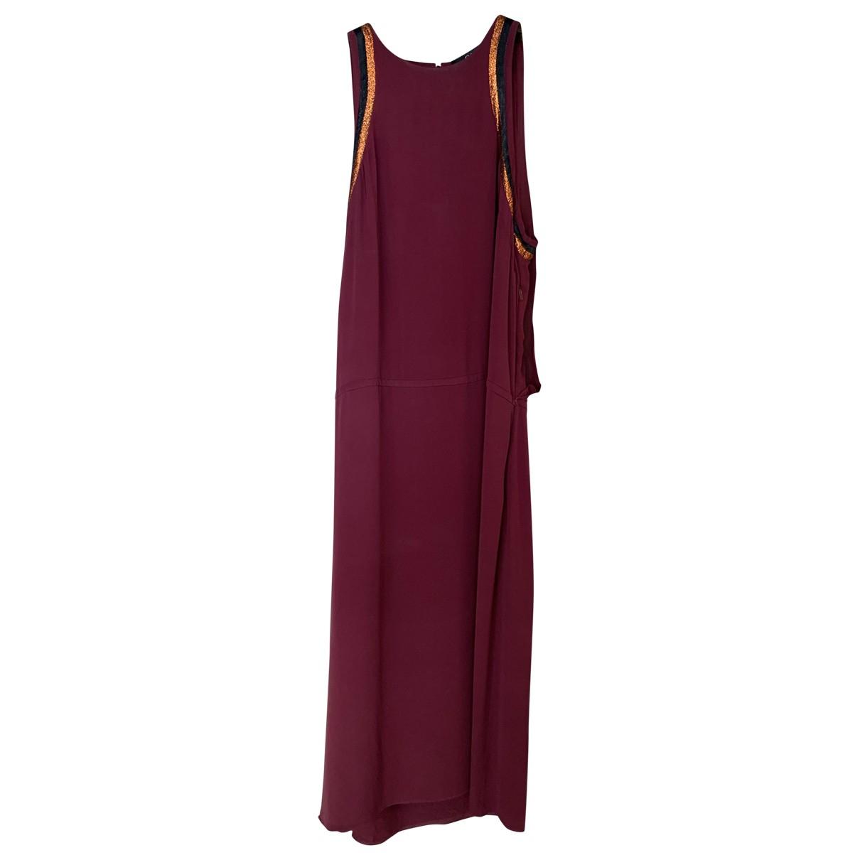 Gucci \N Burgundy Silk dress for Women 44 IT