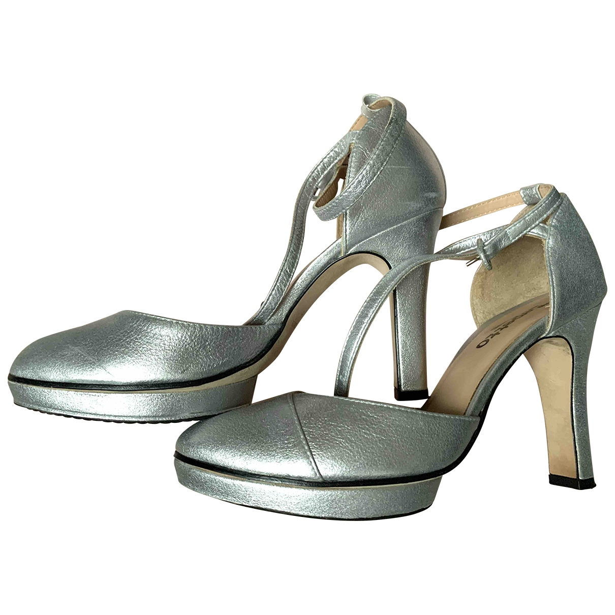 Repetto \N Silver Leather Sandals for Women 39 EU