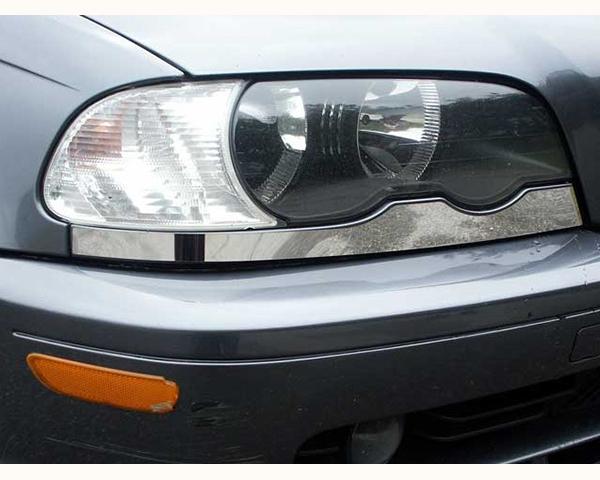 Quality Automotive Accessories 2-Piece Lower Headlight Trim BMW 330xi 2003