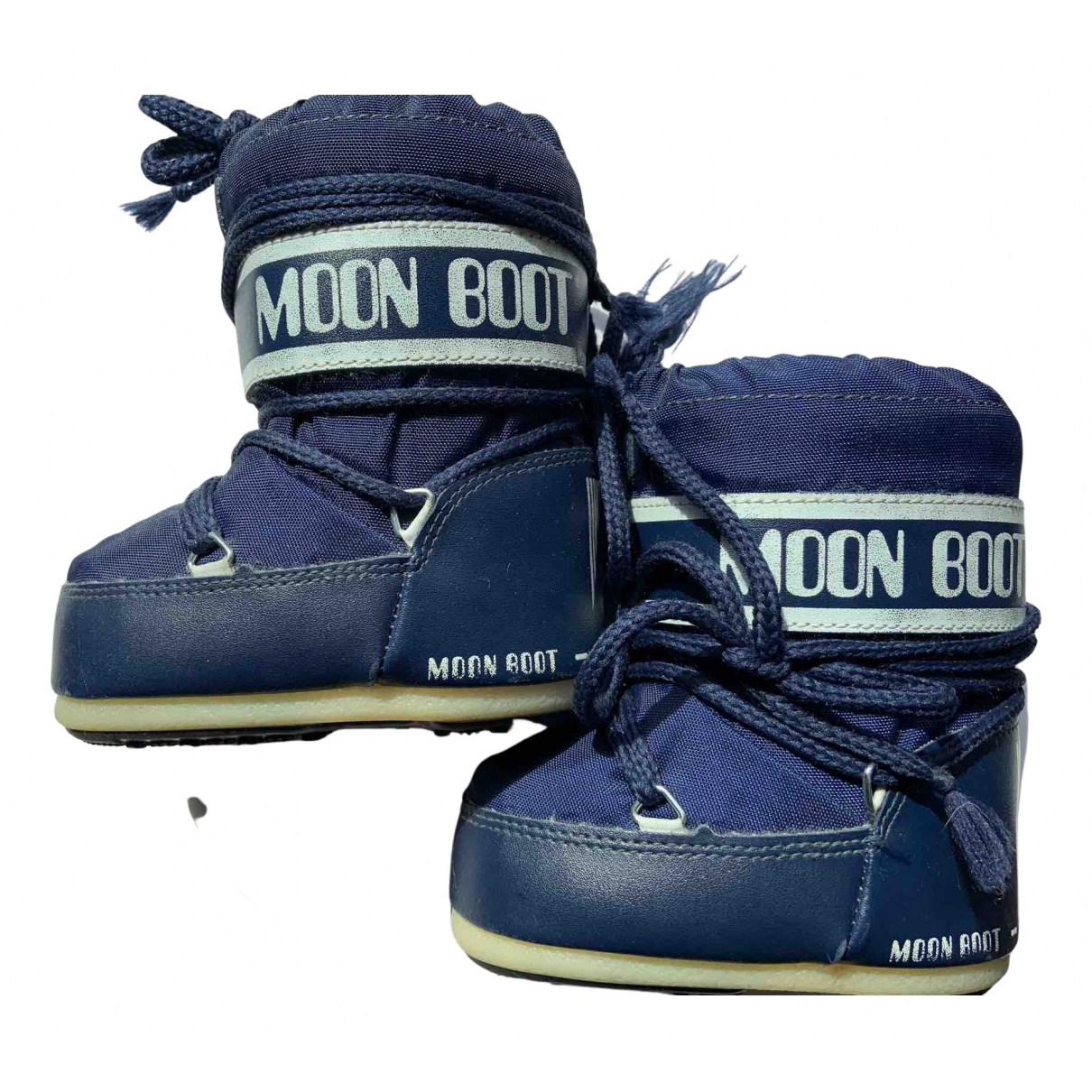 Moon Boot N Navy Boots for Kids 20 FR