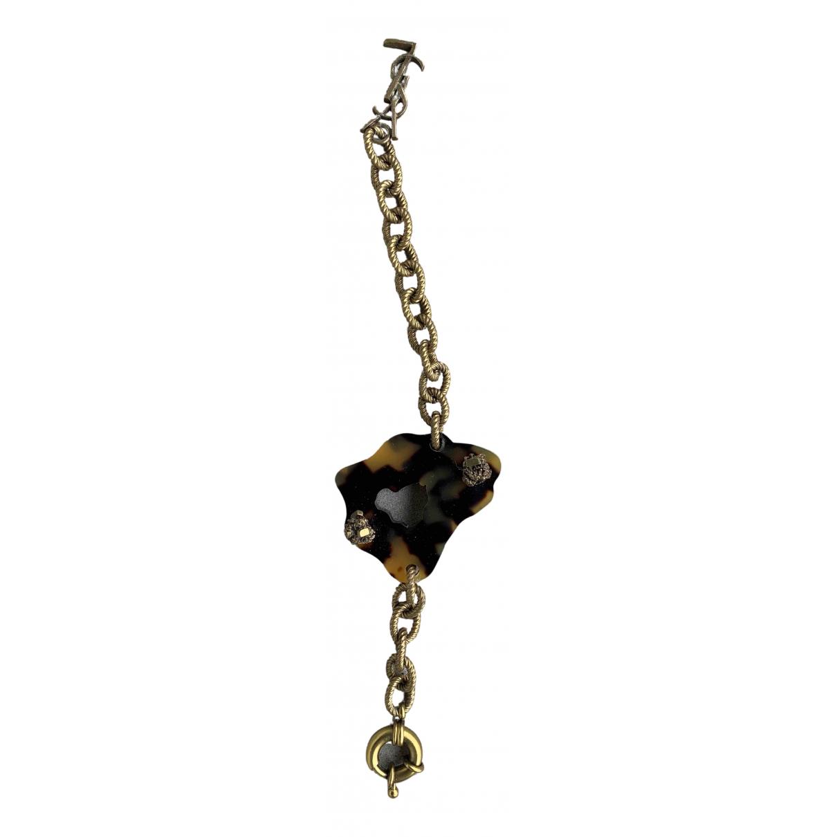 Yves Saint Laurent N Brown Steel bracelet for Women N