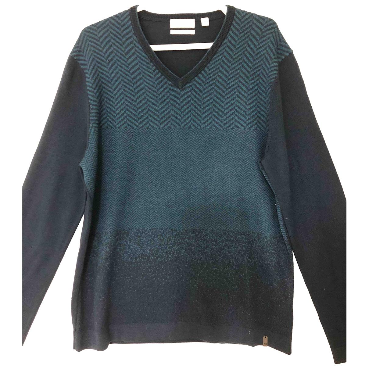 Calvin Klein \N Blue Wool Knitwear & Sweatshirts for Men M International