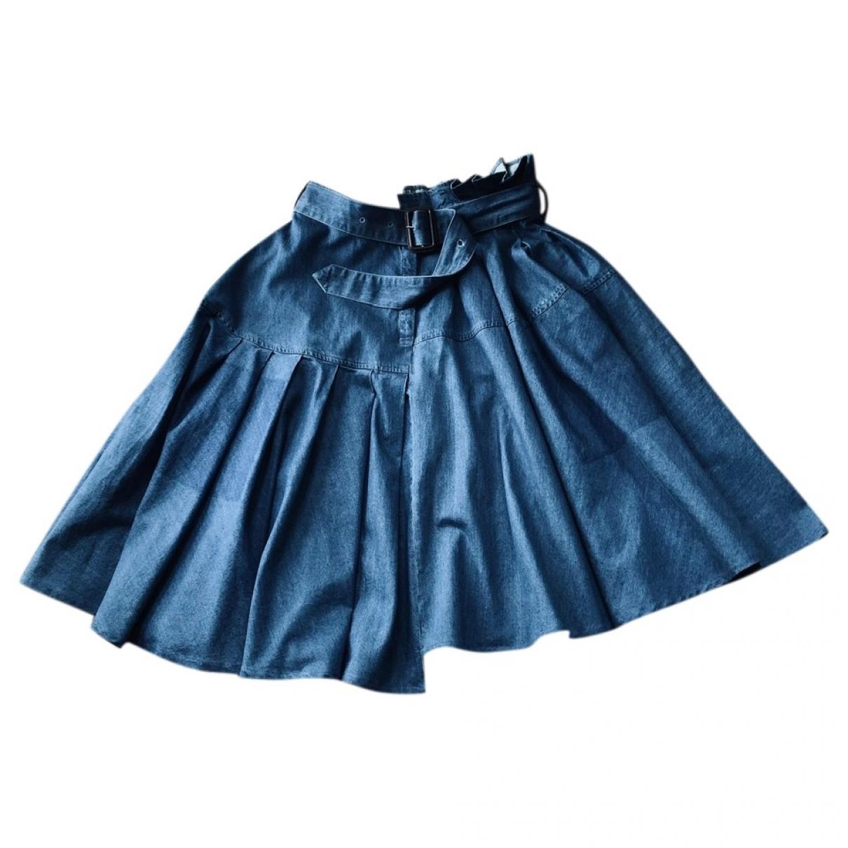 J.w. Anderson \N Blue Denim - Jeans skirt for Women 8 US