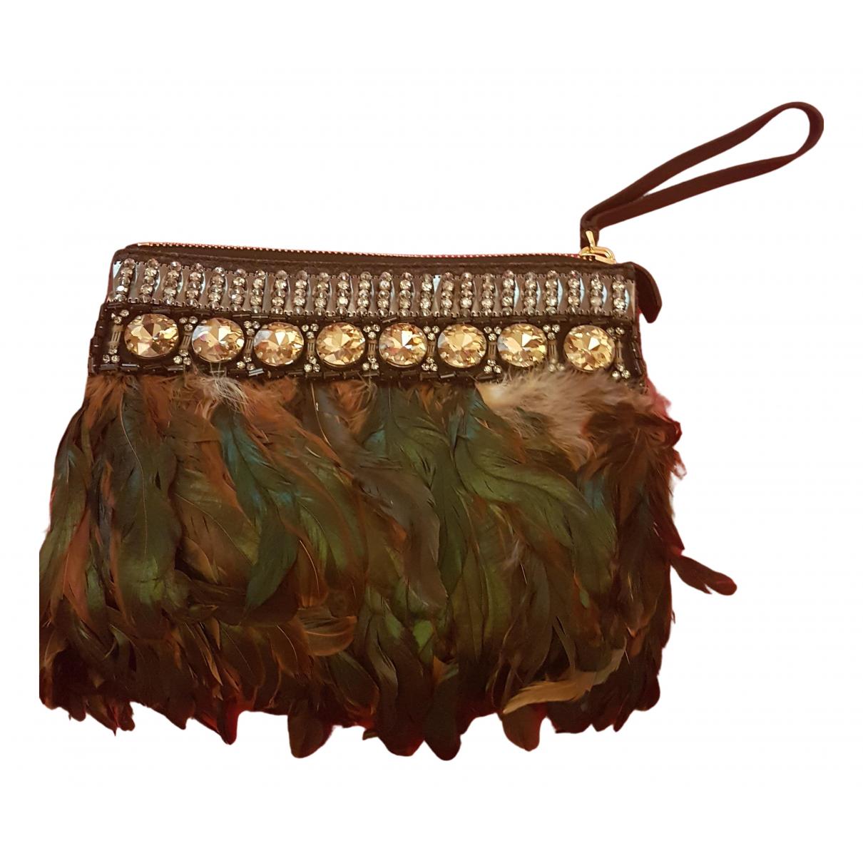 Marni \N Multicolour Leather Clutch bag for Women \N