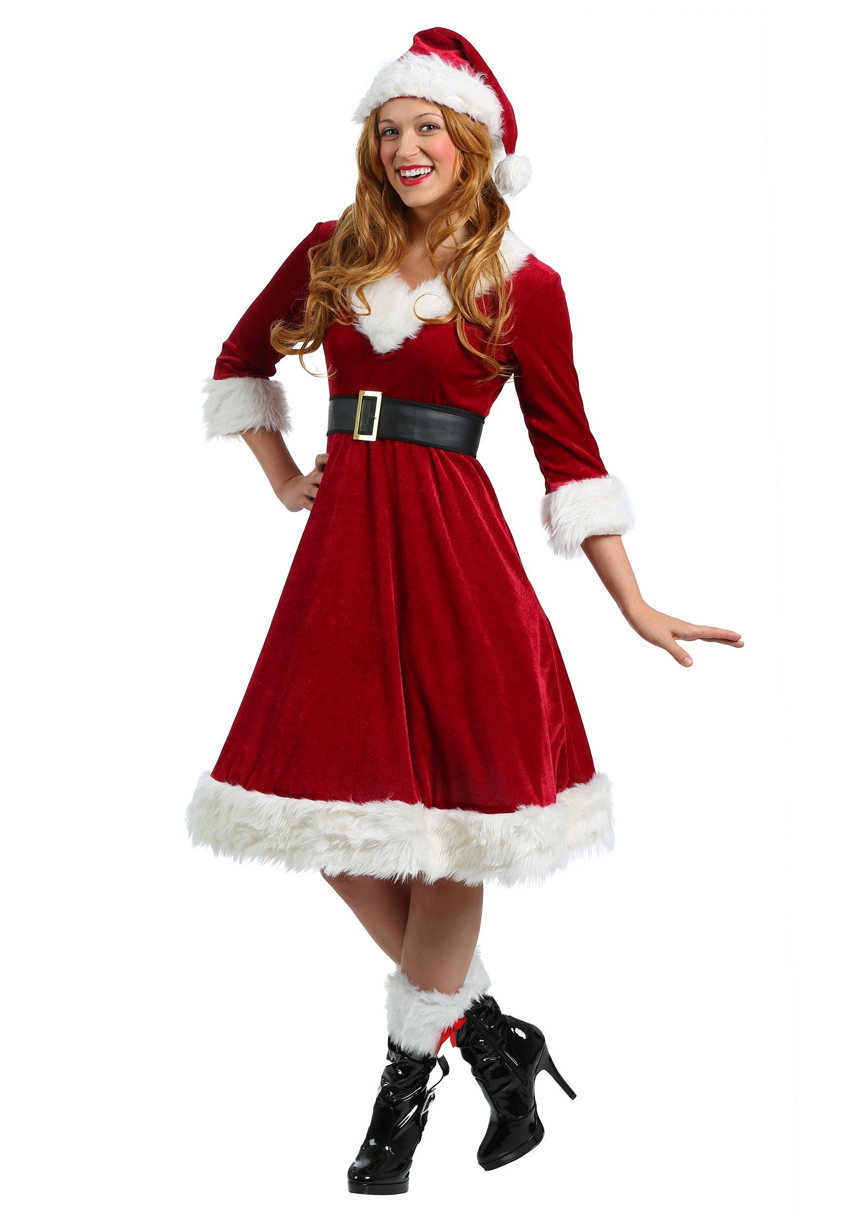 Plus Size Santa Claus Sweetie Costume for Women