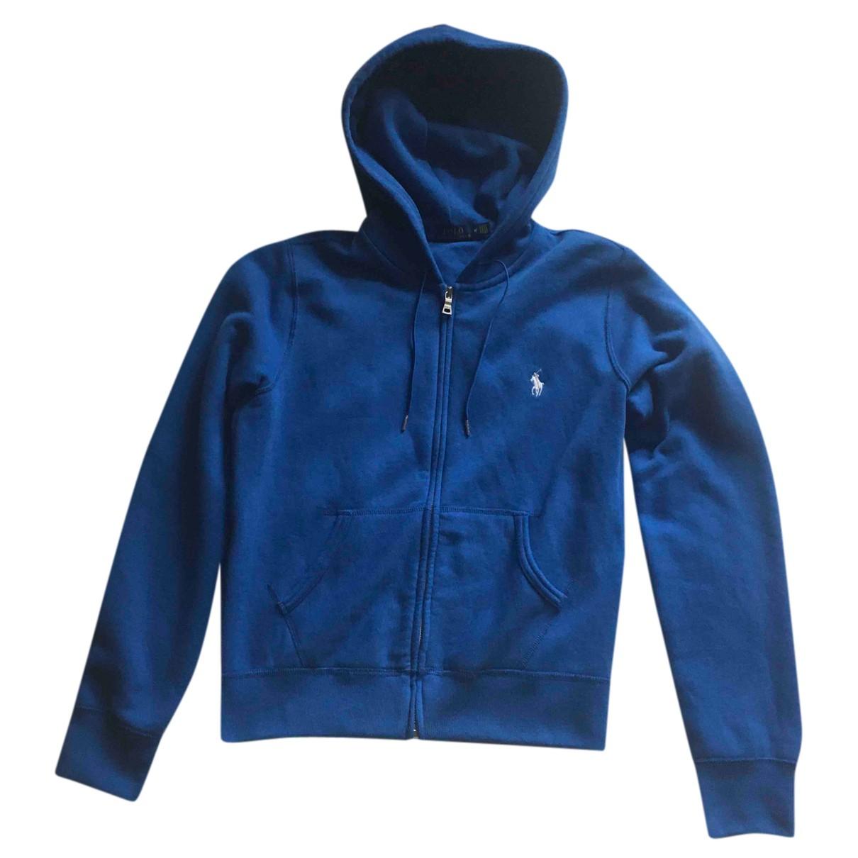 Polo Ralph Lauren - Veste   pour femme en coton - bleu
