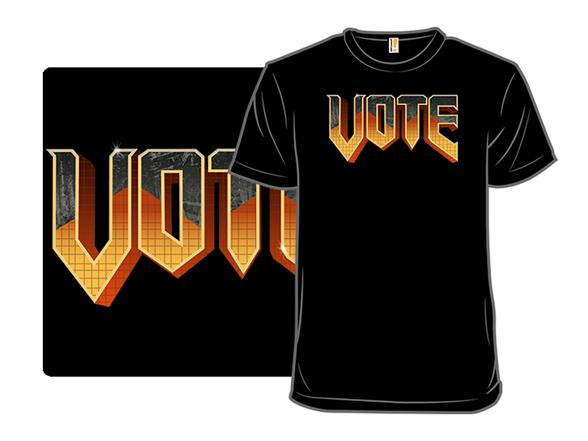 Doomed? Vote T Shirt