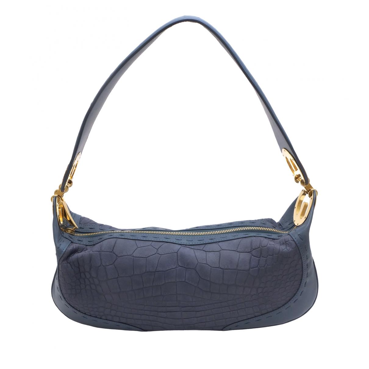 Escada \N Blue Leather handbag for Women \N