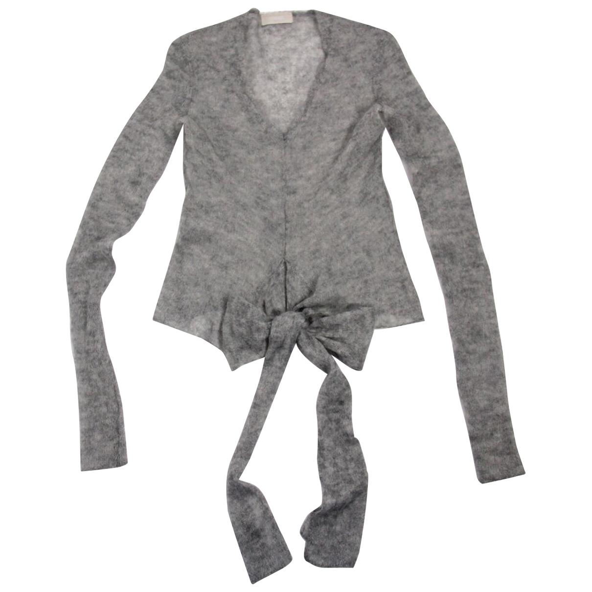 Malo - Pull   pour femme en laine - gris