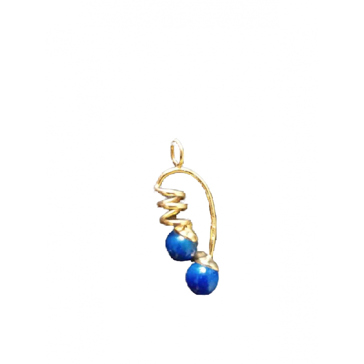 Non Signé / Unsigned Lapis lazuli Gold Yellow gold pendant for Women \N