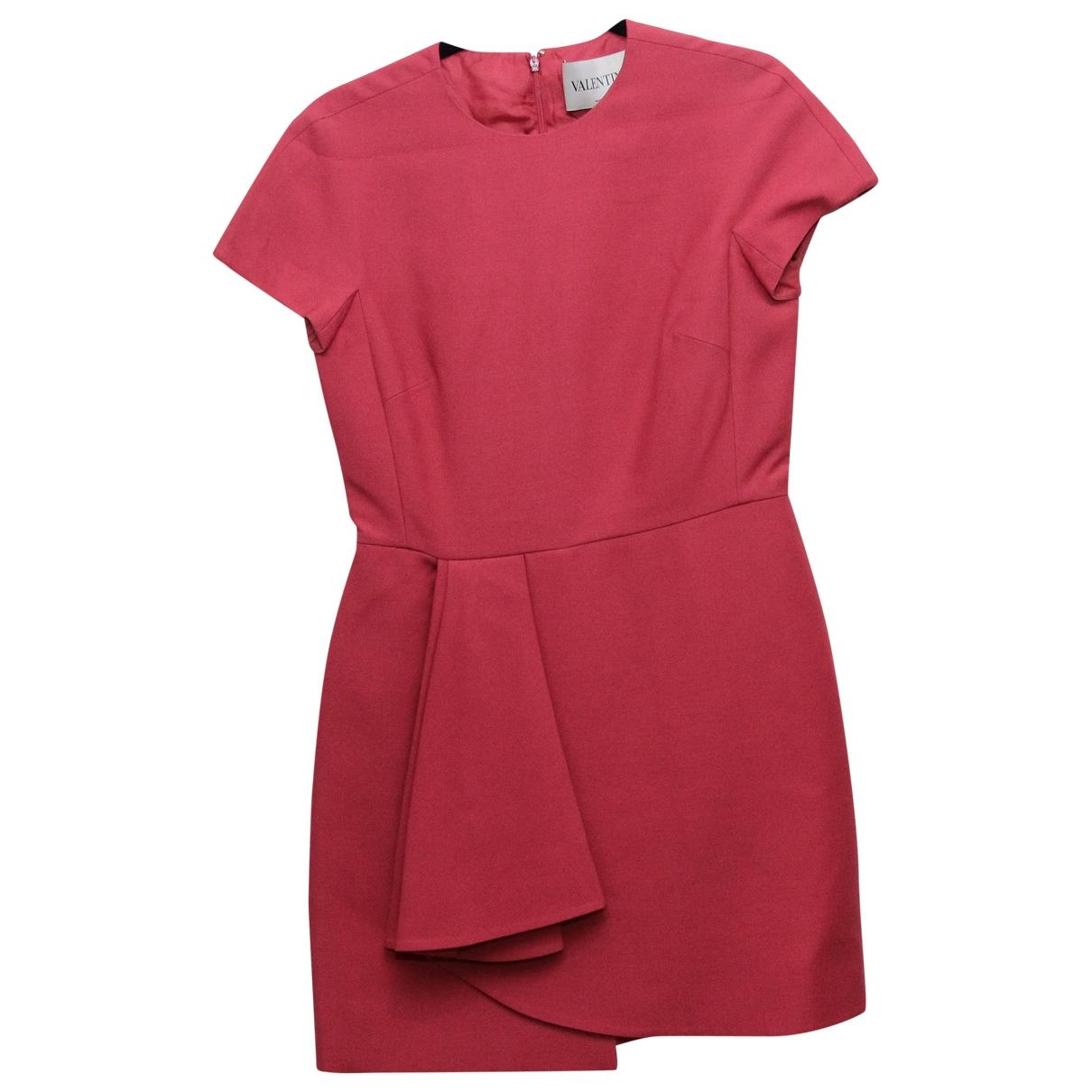 Valentino Garavani - Robe   pour femme en laine - rose