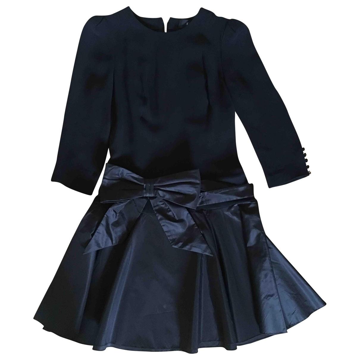 Azzaro - Robe   pour femme en soie - noir
