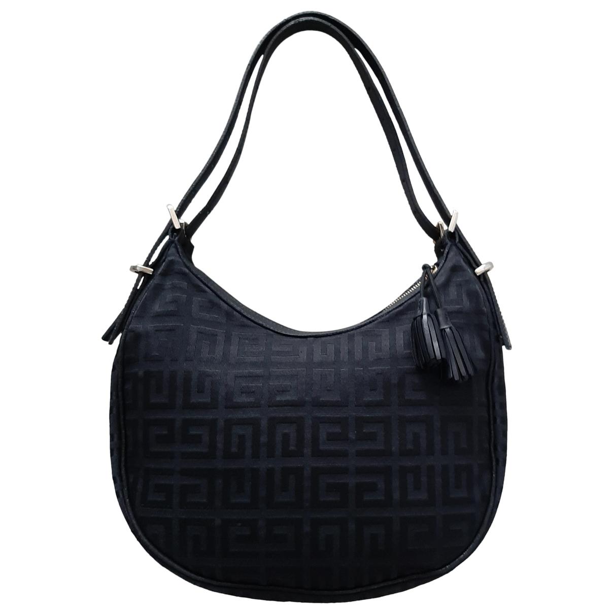 Givenchy \N Handtasche in  Schwarz Leinen