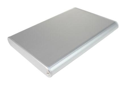 Takachi Electric Industrial MXA Silver Aluminium Handheld Enclosure, 144 x 100 x 16mm