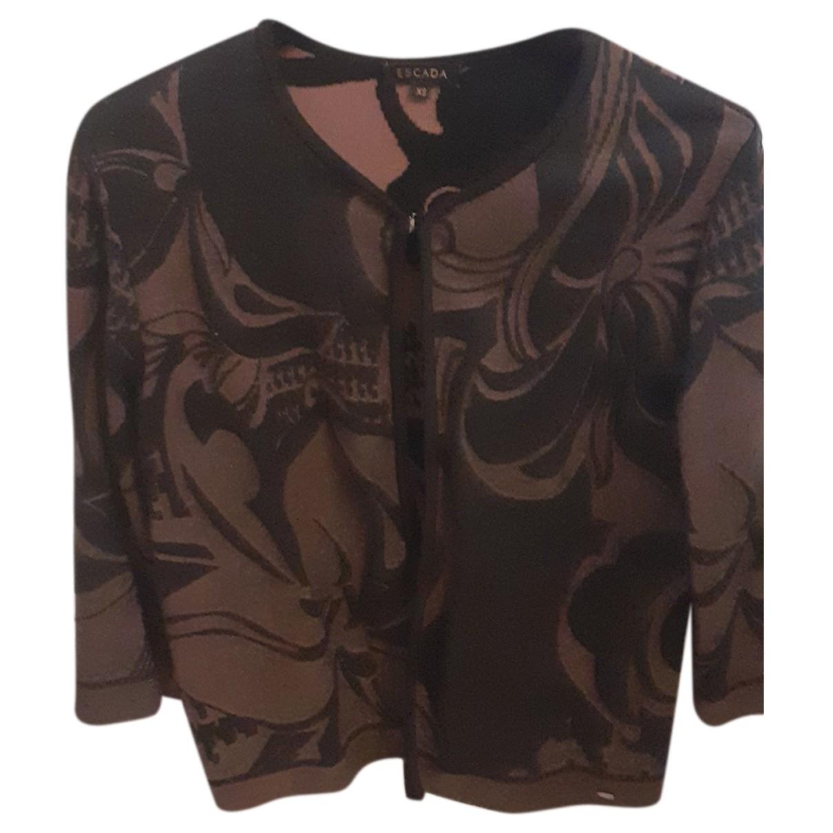 Escada \N Brown Wool jacket for Women 36 FR