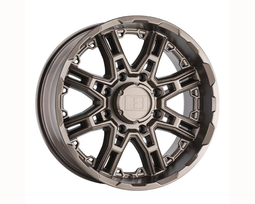 Level 8 Slingshot Wheel 20x9 6x135 10 Matte Bronze