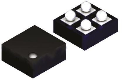 Texas Instruments TMP103BYFFT, Temperature Sensor -40 → +125 °C ±3°C Serial-I2C, SMBus, 4-Pin DSBGA (5)