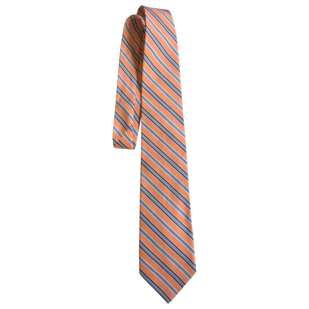 Polo Ralph Lauren \N Krawatten in  Orange Seide