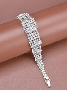 Rhinestone Decor Bracelet