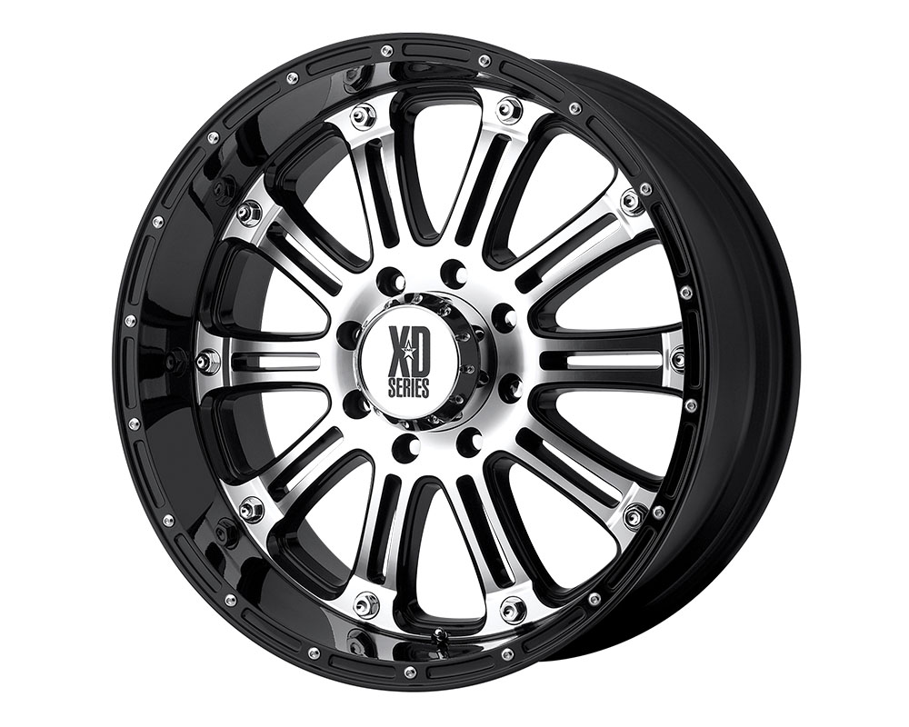 XD Series XD79522962830 XD795 Hoss Wheel 22x9.5 6x6x139.7 +30mm Gloss Black Machined