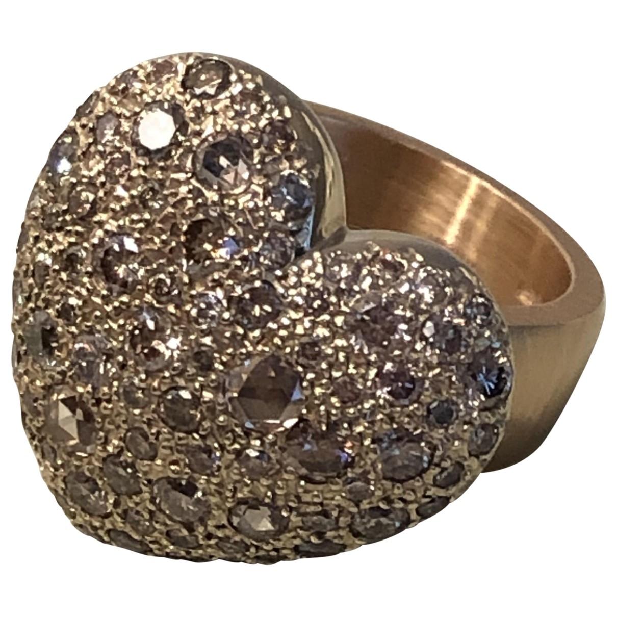 Pomellato Sabbia Ring in  Gold Rosegold
