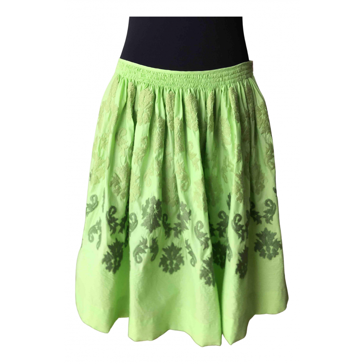 Moschino Cheap And Chic - Jupe   pour femme en coton - vert