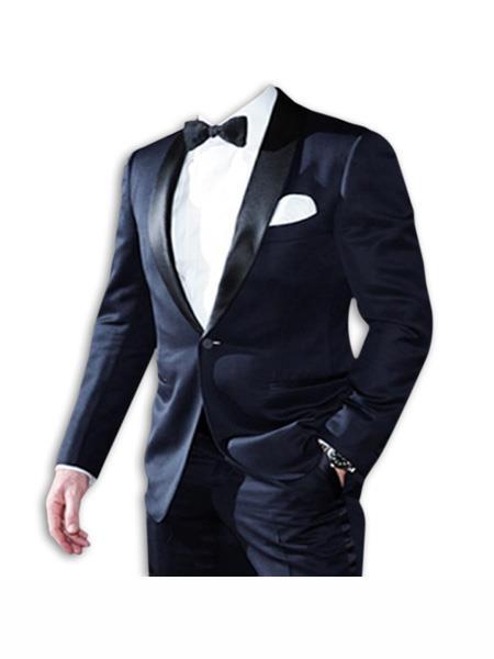 james bond ~ Daniel Craig Look Suit Tuxedo Navy