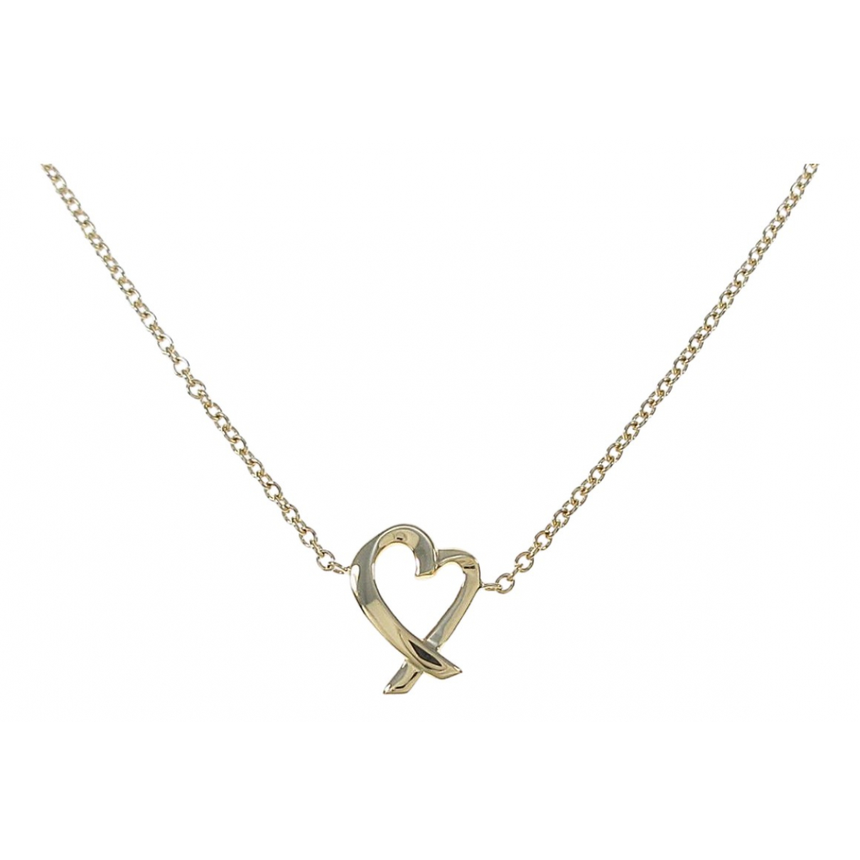 Tiffany & Co Paloma Picasso Kette in  Gold Gelbgold