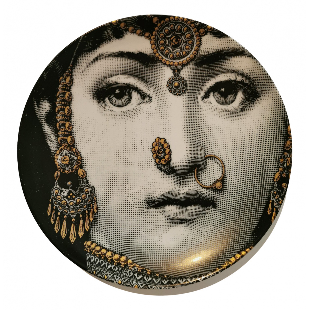 Fornasetti - Objets & Deco   pour lifestyle en ceramique - noir