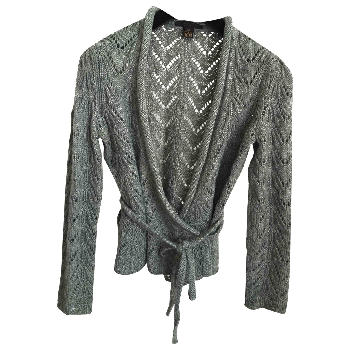 Louis Vuitton N Green Wool Knitwear for Women M International