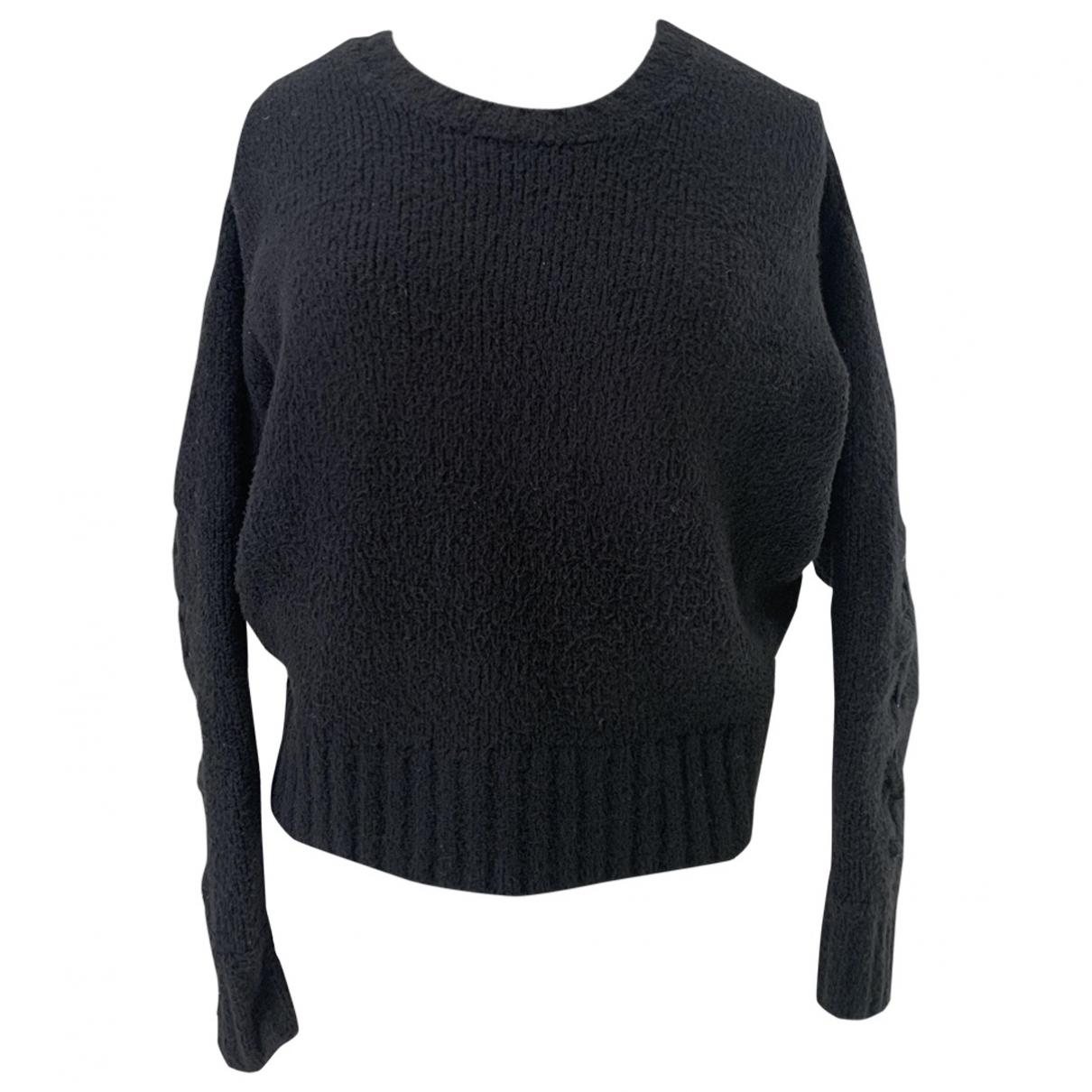 Iro - Pull   pour femme en coton - noir