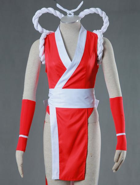 Milanoo The King Of Fighters KOF Mai Shiranui Sexy Cosplay Costume Halloween