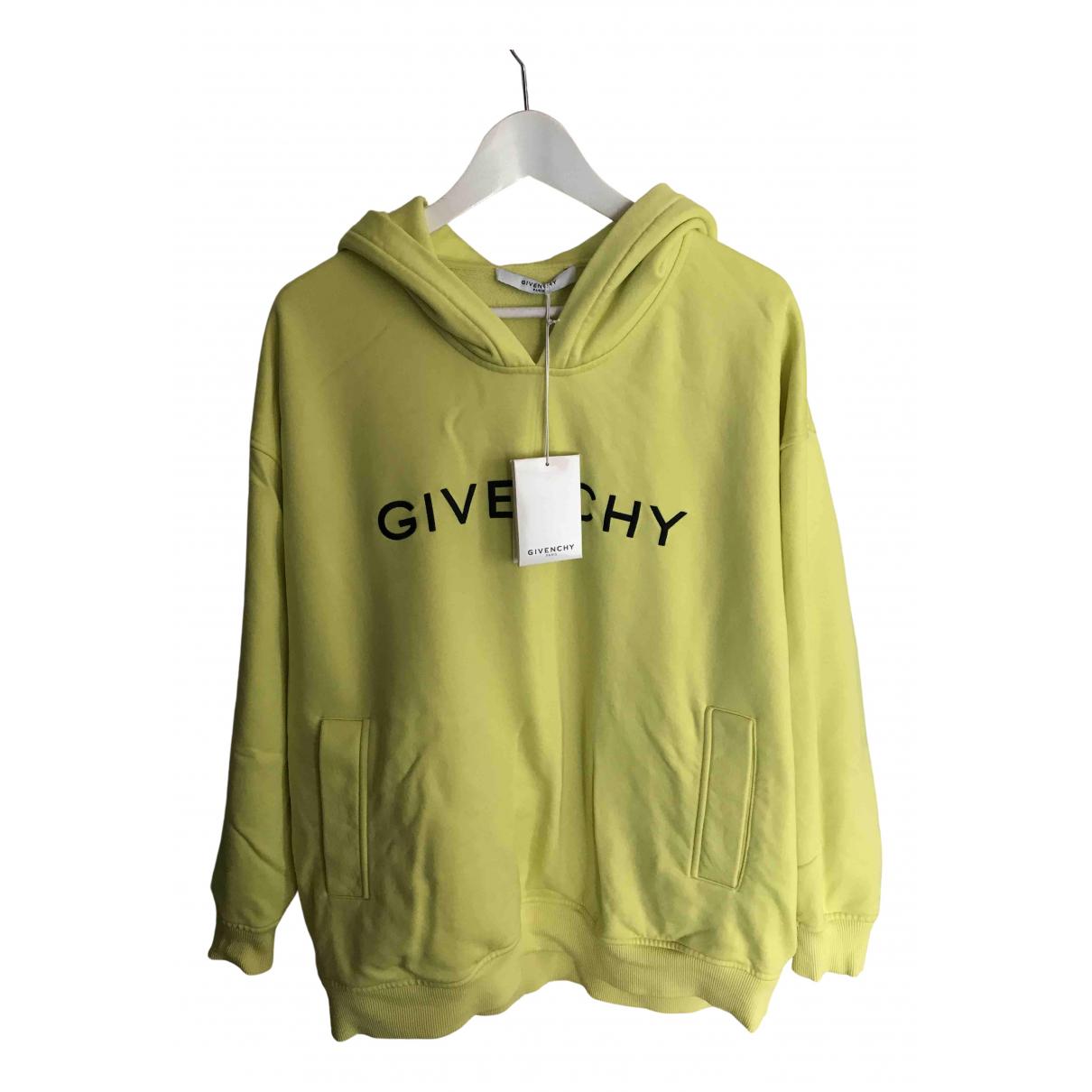 Givenchy - Pull   pour femme en coton - vert