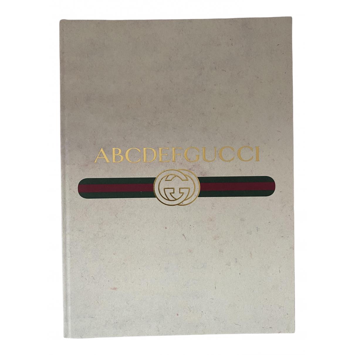 Gucci \N Accessoires und Dekoration in  Beige Baumwolle