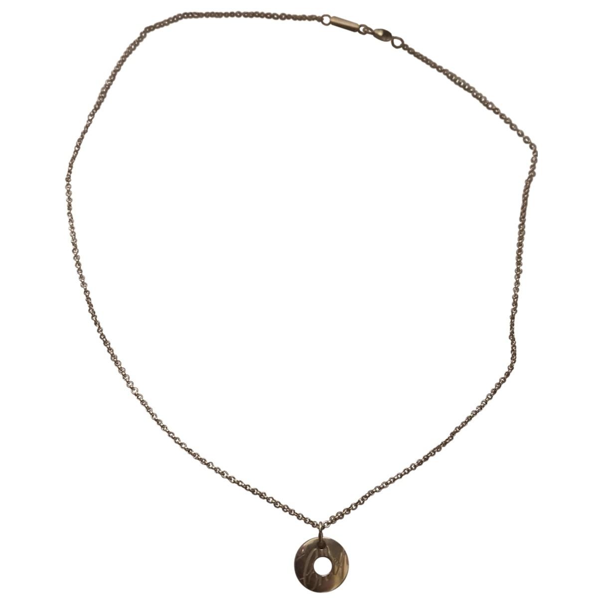 Chopard - Collier   pour femme en or blanc - argente