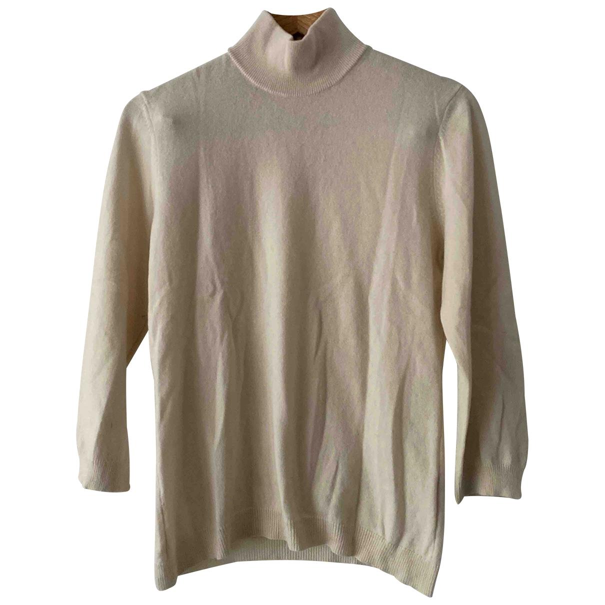 Tory Burch \N Ecru Cashmere Knitwear for Women L International